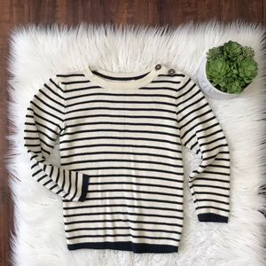 H&M striped sweater!